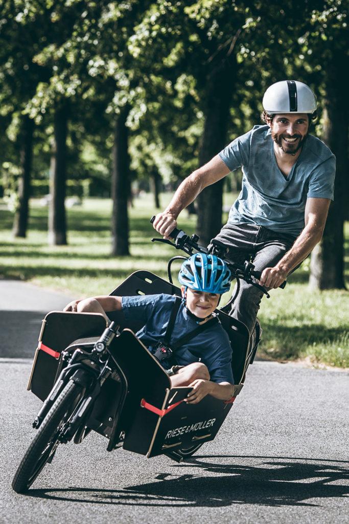 Riese & Müller Packster lastesykkel