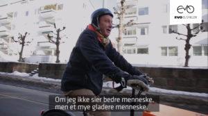 Snekker og tømrermester lastesykkel elsykkel Packster