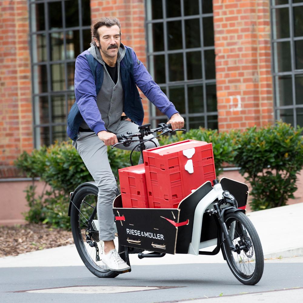 Riese & Müller håndverker Packster lastesykkel