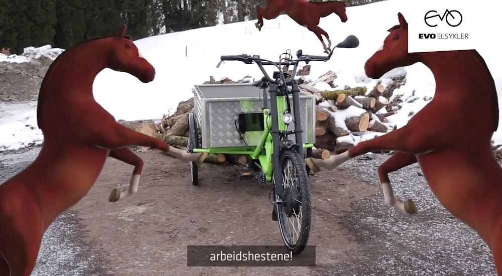 Radkutsche Musketier elektrisk lastesykkel
