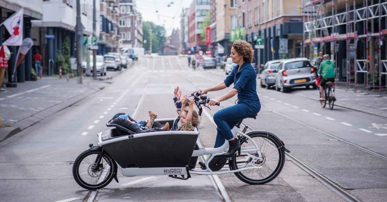 Urban Arrow Family lastesykkel