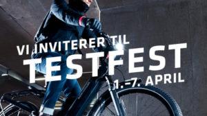 Testfest demodager elsykkel