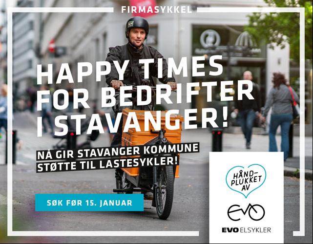 Sykkel Stavanger bedrift